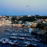 Ponza with boats