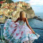 Lady With Dress