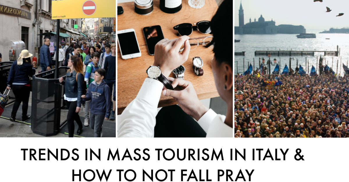 Mass Tourism & Why it Matters: For your Upcoming Trip to Italy & for The Environment