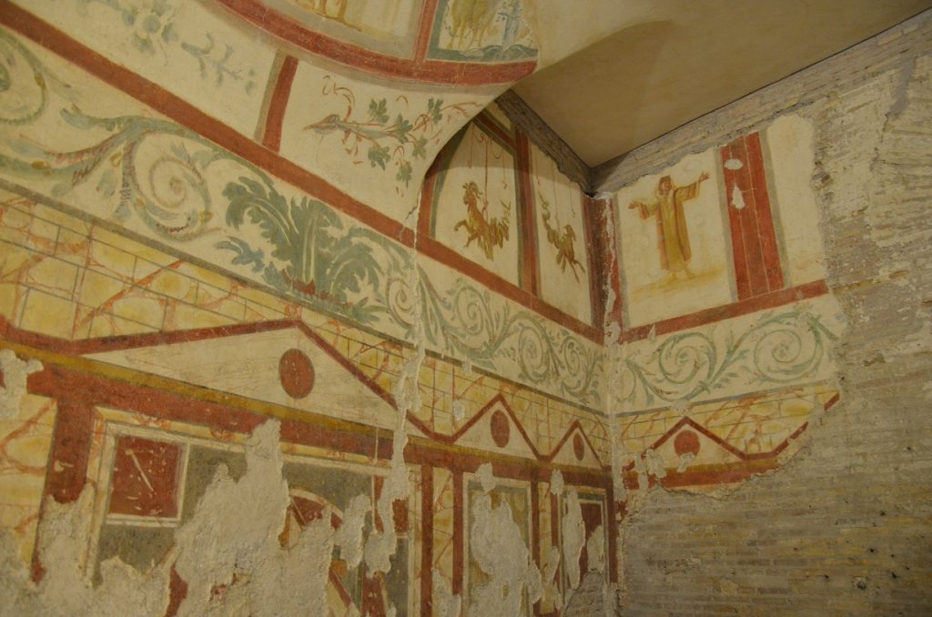 Underground Rome: The Case Romane under the church of Peter and Paul