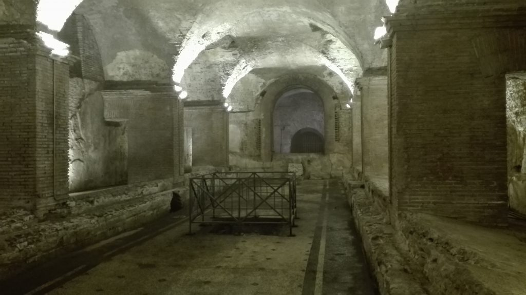 Underground Rome: The Mithraeum at the Baths of Caracalla