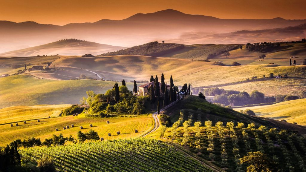 The Orcia Valley