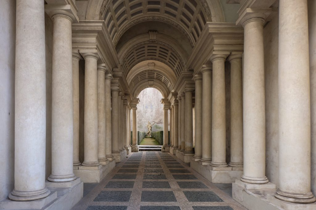 Borromini's 'Perspective' at Galleria Spada