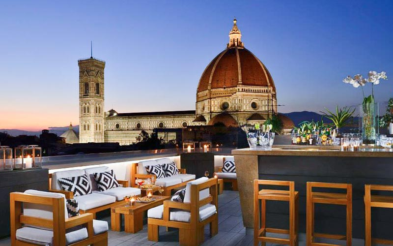 Our 5 Favorite Rooftop Bars In Florence Italy Vacation