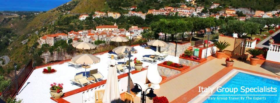 Contemporary Luxury at Hotel La Loggia in Tortora, Calabria, Italy