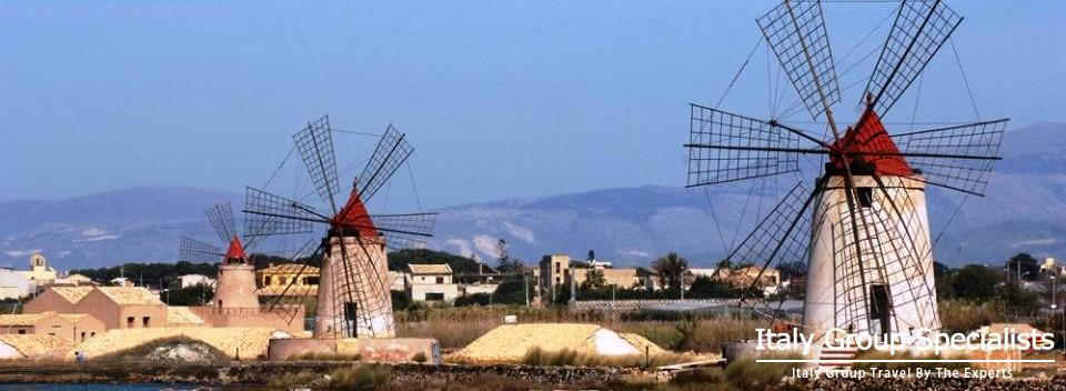 The Salt Road - Trapani to Marsala, Sicily