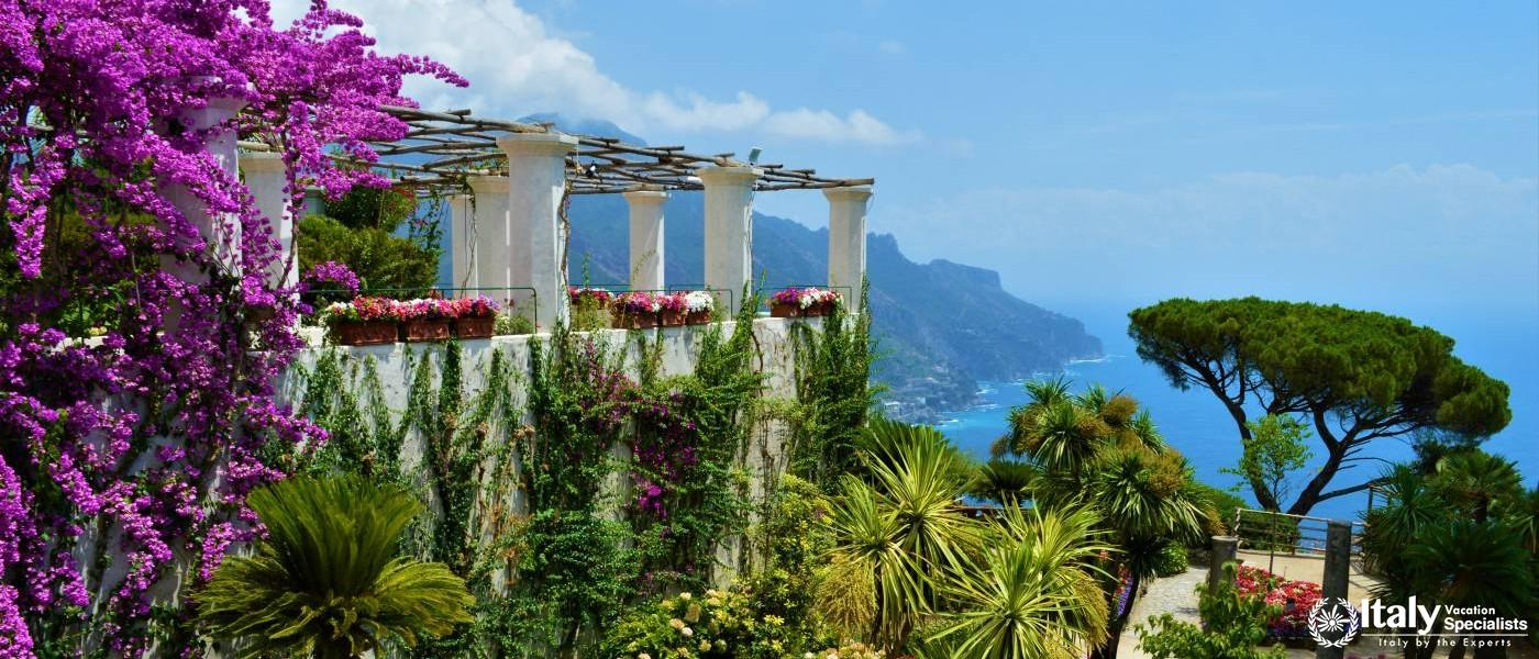 Experience Spectacular Gardens of Ravello