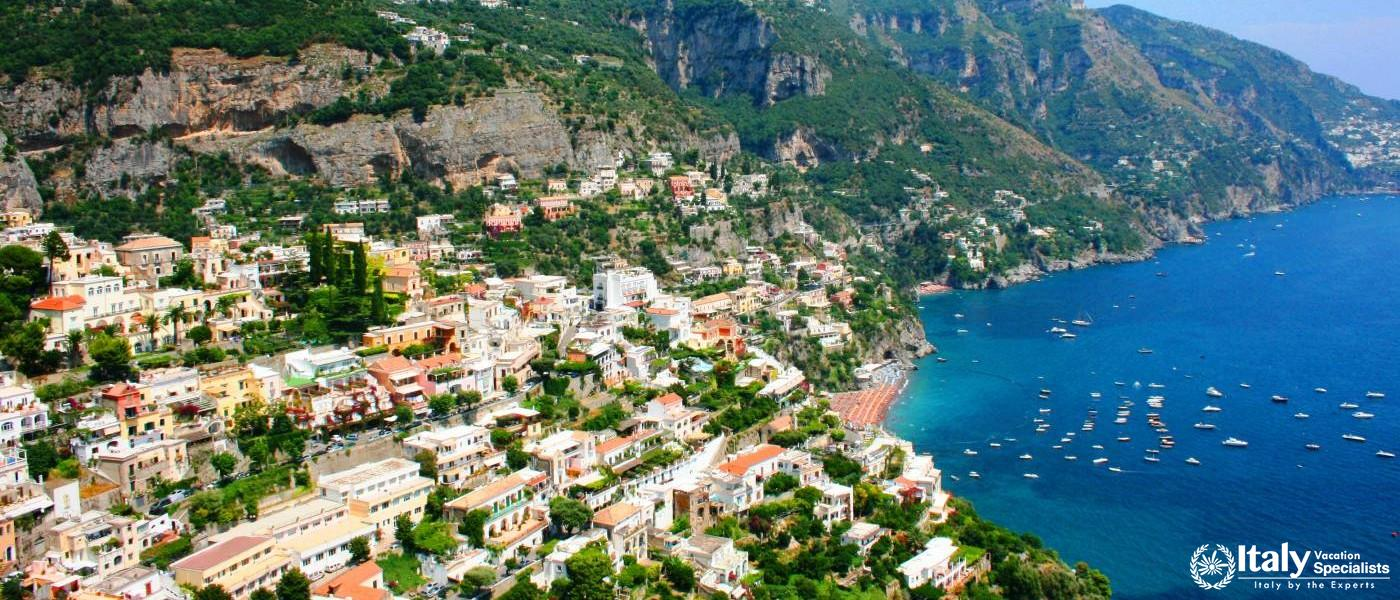 Experience Spectacular Positano and the Amalfi Coast with italy Vacation Specialists