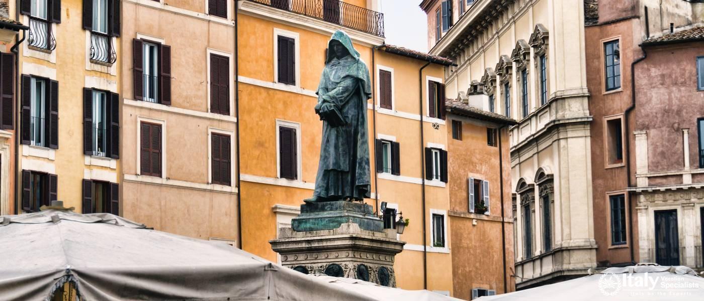 Campo De' Fiori, Rome Italy: