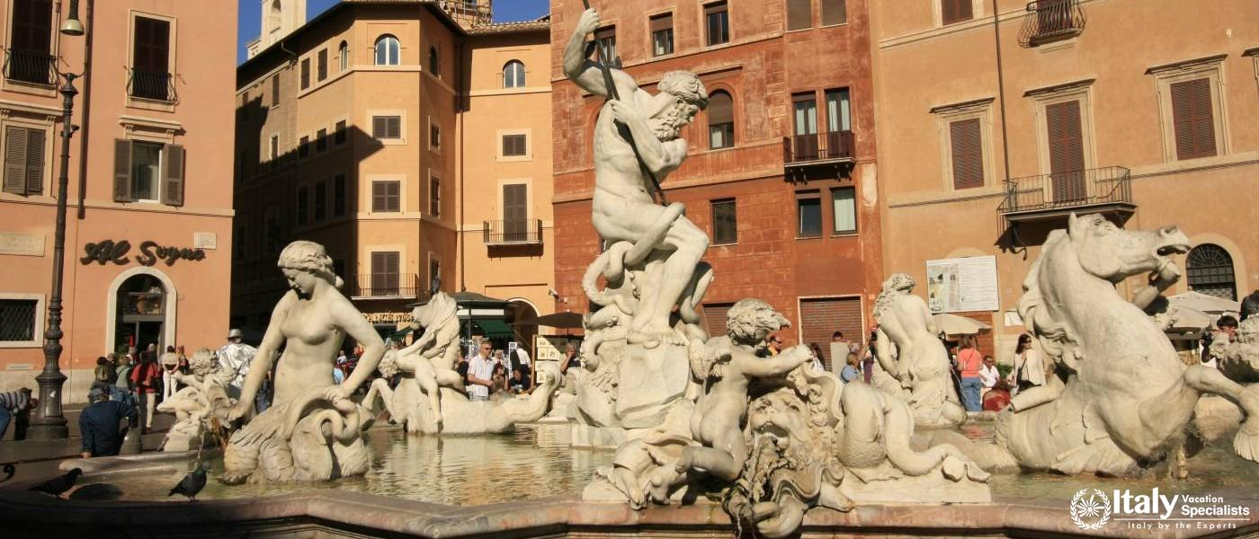 Piazza Navona Rome - Italy Vacation Specialists