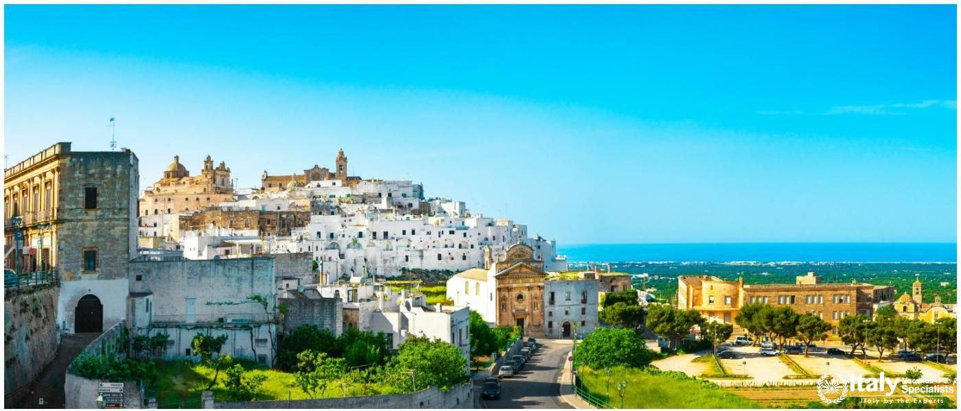 Ostuni Puglia Escorted Luxury Tours of Puglia