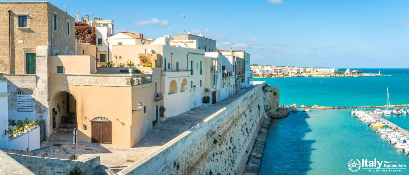 Experience Beautiful Otranto Puglia, with Italy Vacation Specialists