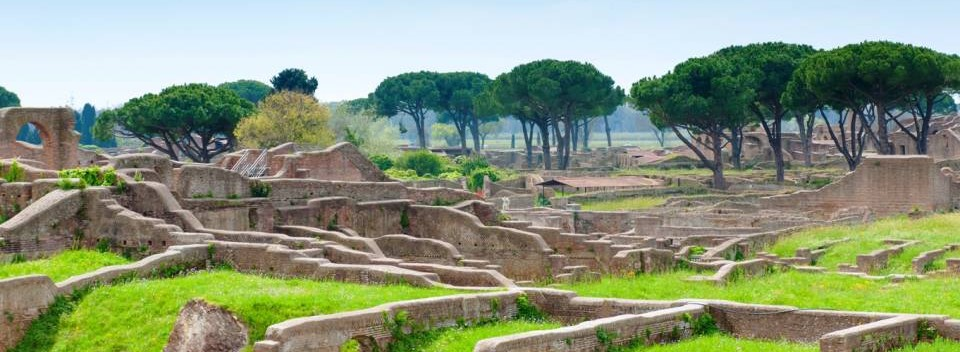 The Incredible Ruins at Ostia Antica
