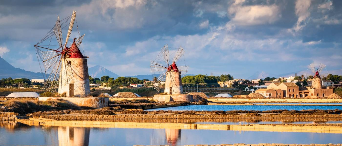 Marsala, Sicily Salt fields with Italy Vacation Specialists