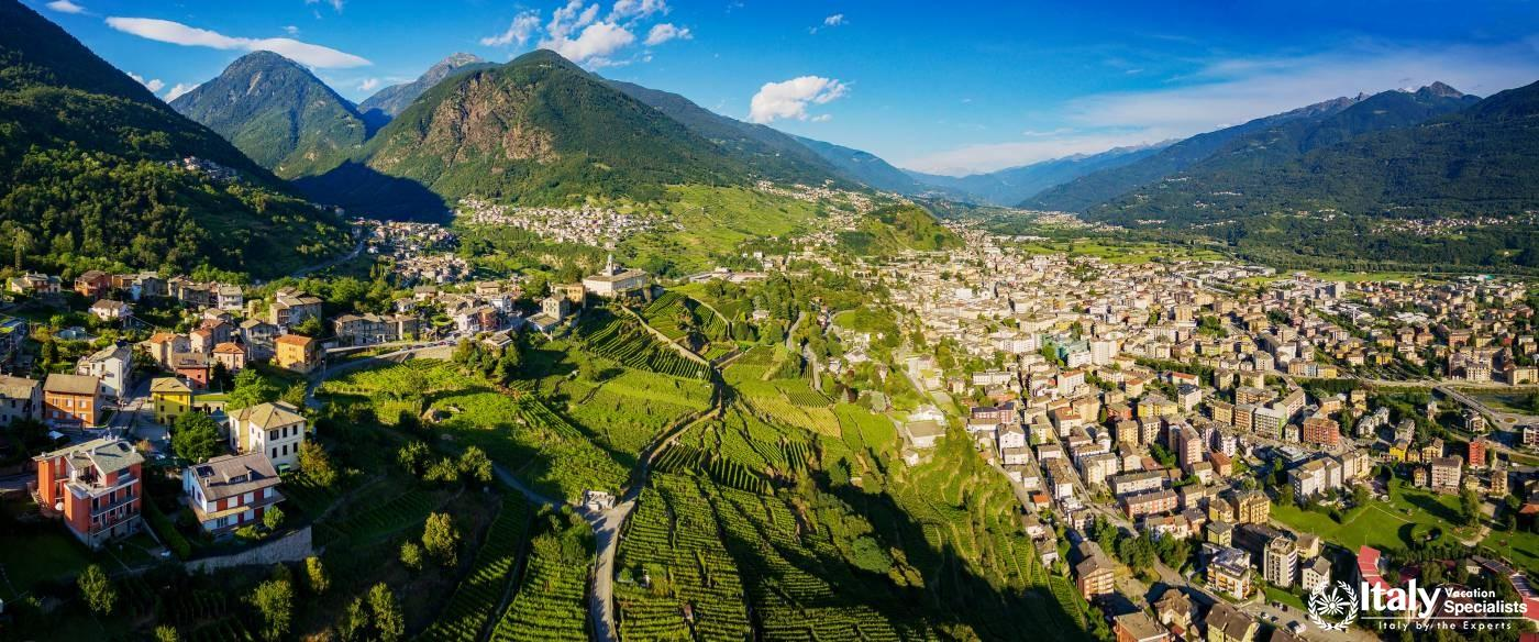 Experience beautiful Sondrio, Lombardia with Italy Vacation Specialists