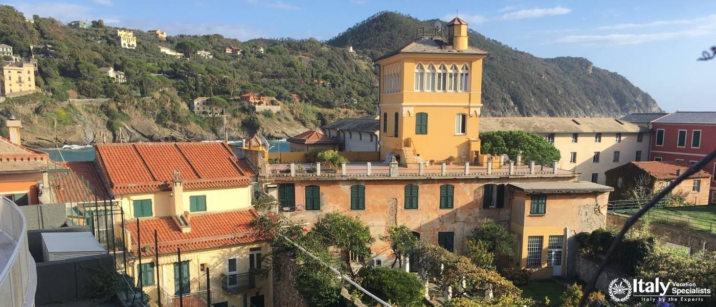 View over Sestri Levante - Italian Riviera