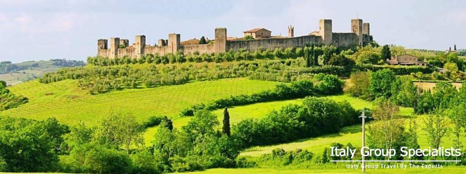 Montereggioni, Tuscany