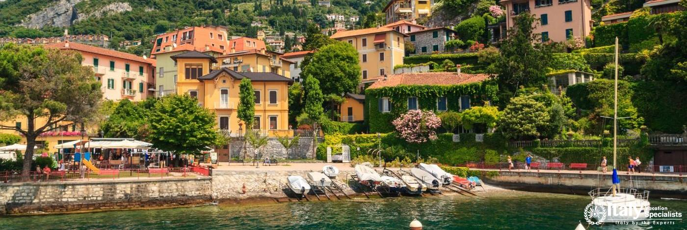 Varenna on the Italian Lake District