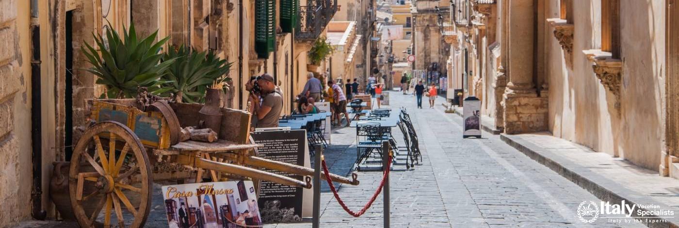 Street Scene, Noto - Sicily