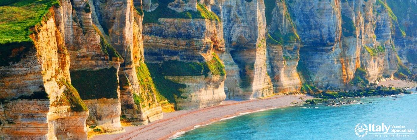 Cliffs of Normandy, France