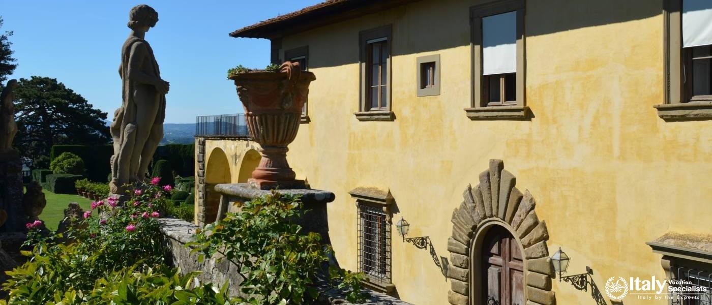 Villa Gamberaia Garden Florence Tuscany