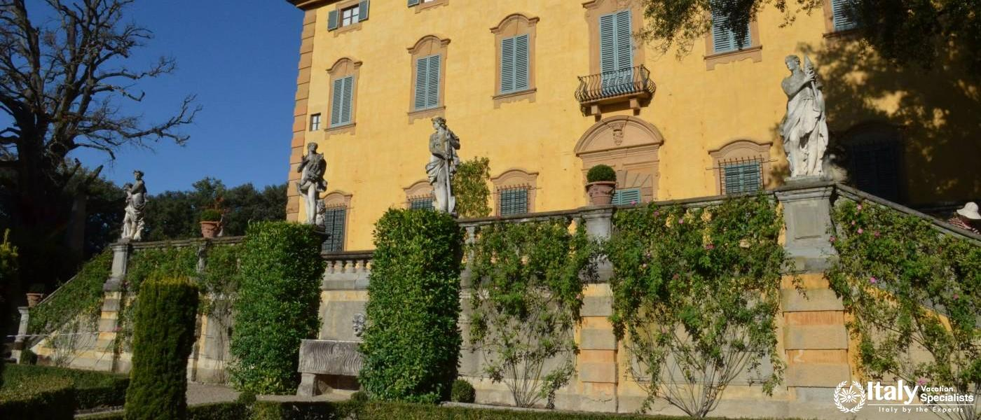 Step inside Villa La Pietra Garden Tuscany