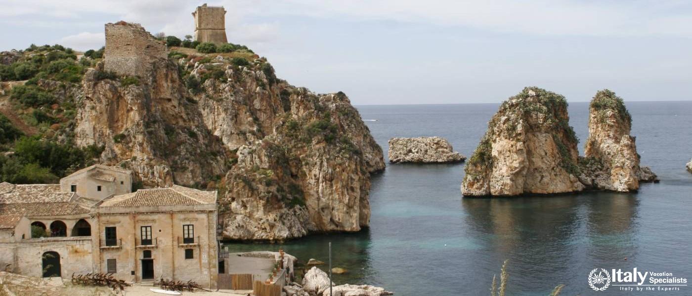 Driver in Sicily for Castellammare del Golfo