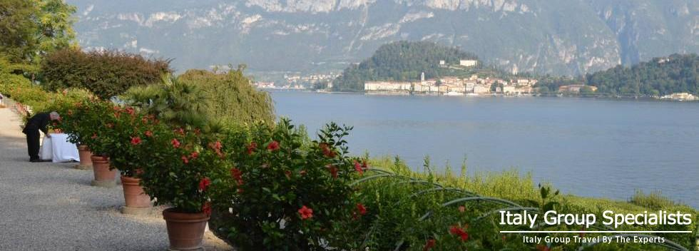The Gardens at the Villa Carlotta on Lake Como