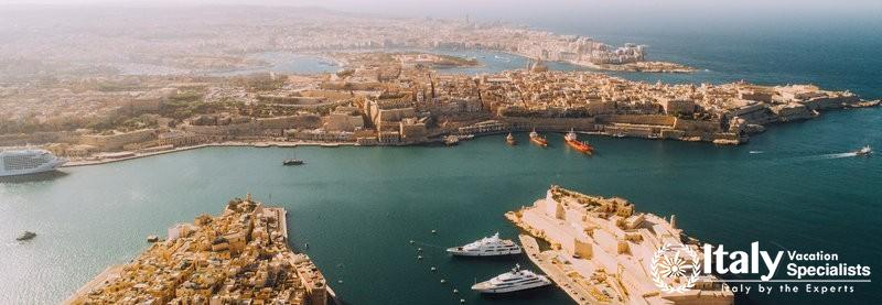 Beautiful view of Malta