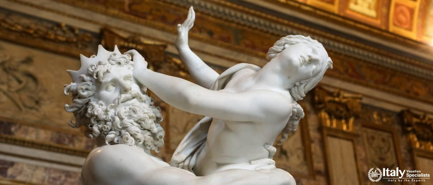 Guided Tours of Villa Borghese, Rome, Italy