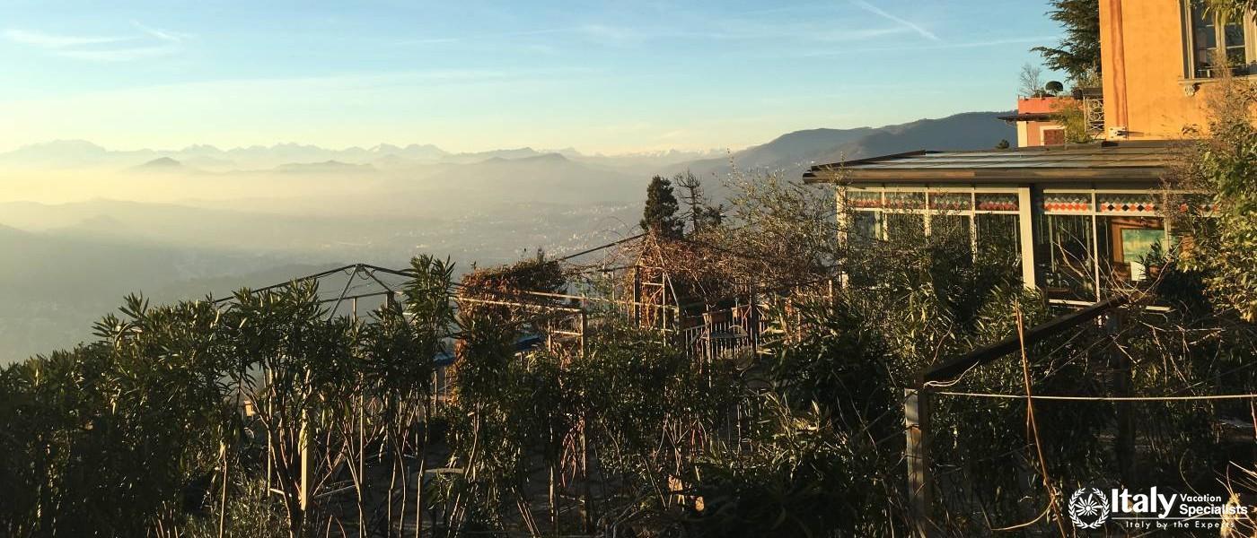 High Above the Alps, Brunante Town, Lake Como