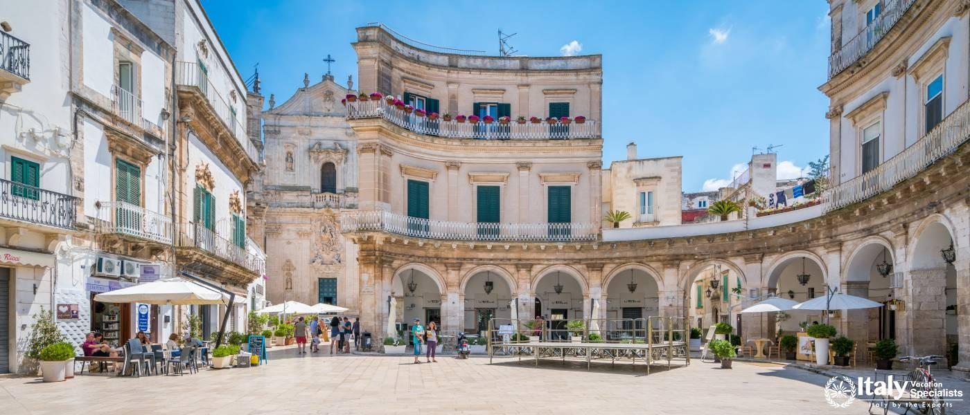 Experience beautiful Martina Franca, Puglia region Italy with Italy Vacation Specialists