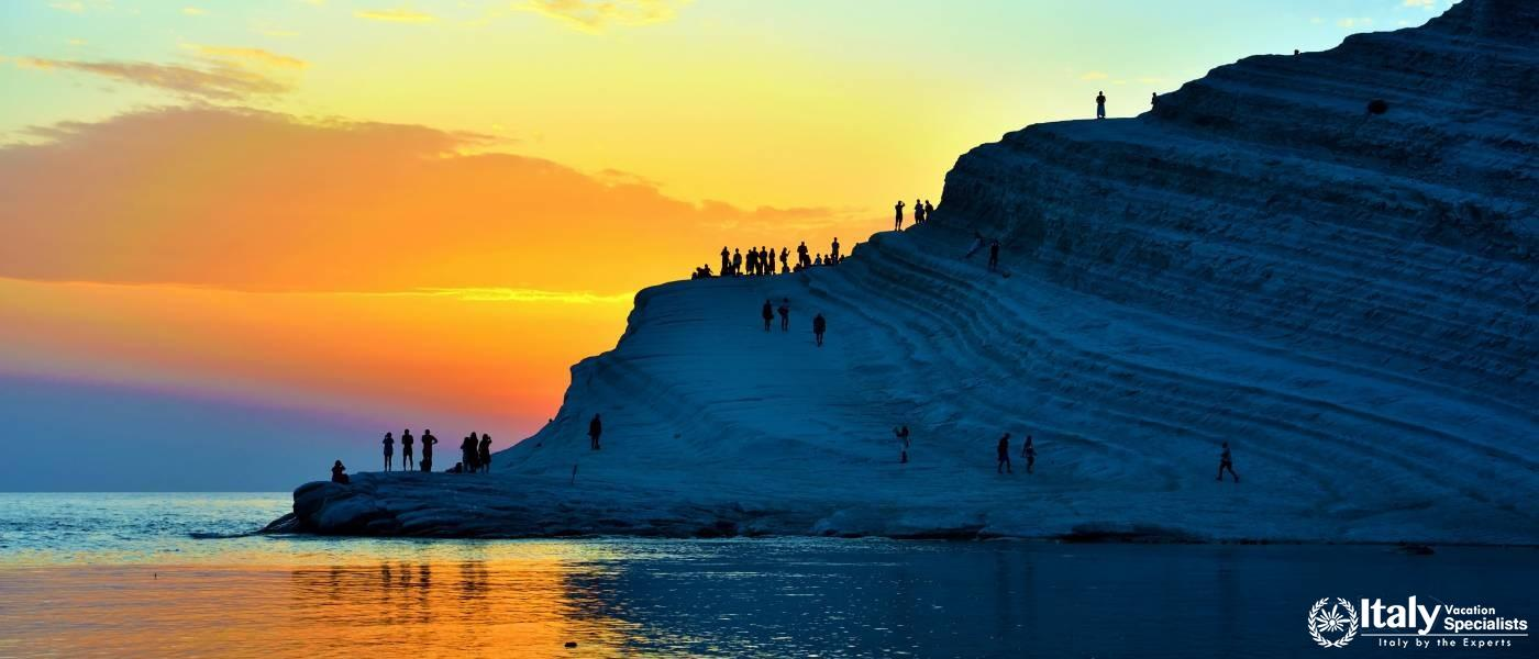 Scala dei Turchi Sicily with Italy Vacation Specialists