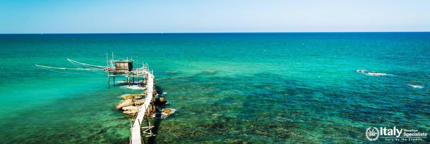 Beautiful Adriatic Coast of Abruzzo Region, Italy