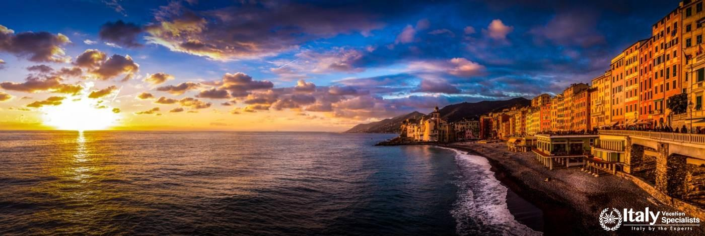 Camogli, on the Italian Riviera - Italy