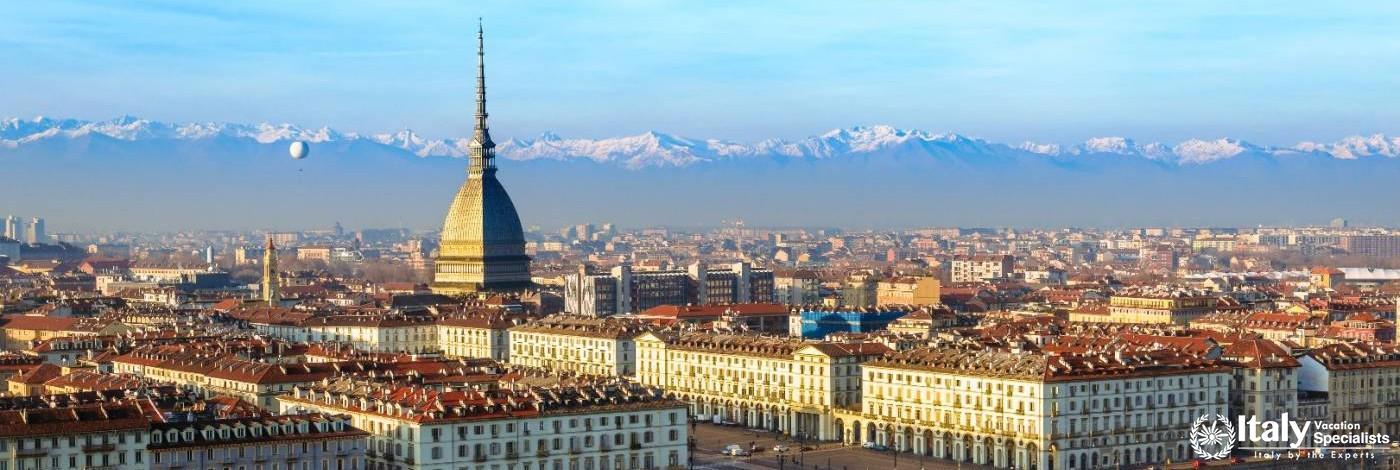 Torino, Capital of Piemonte Skyline