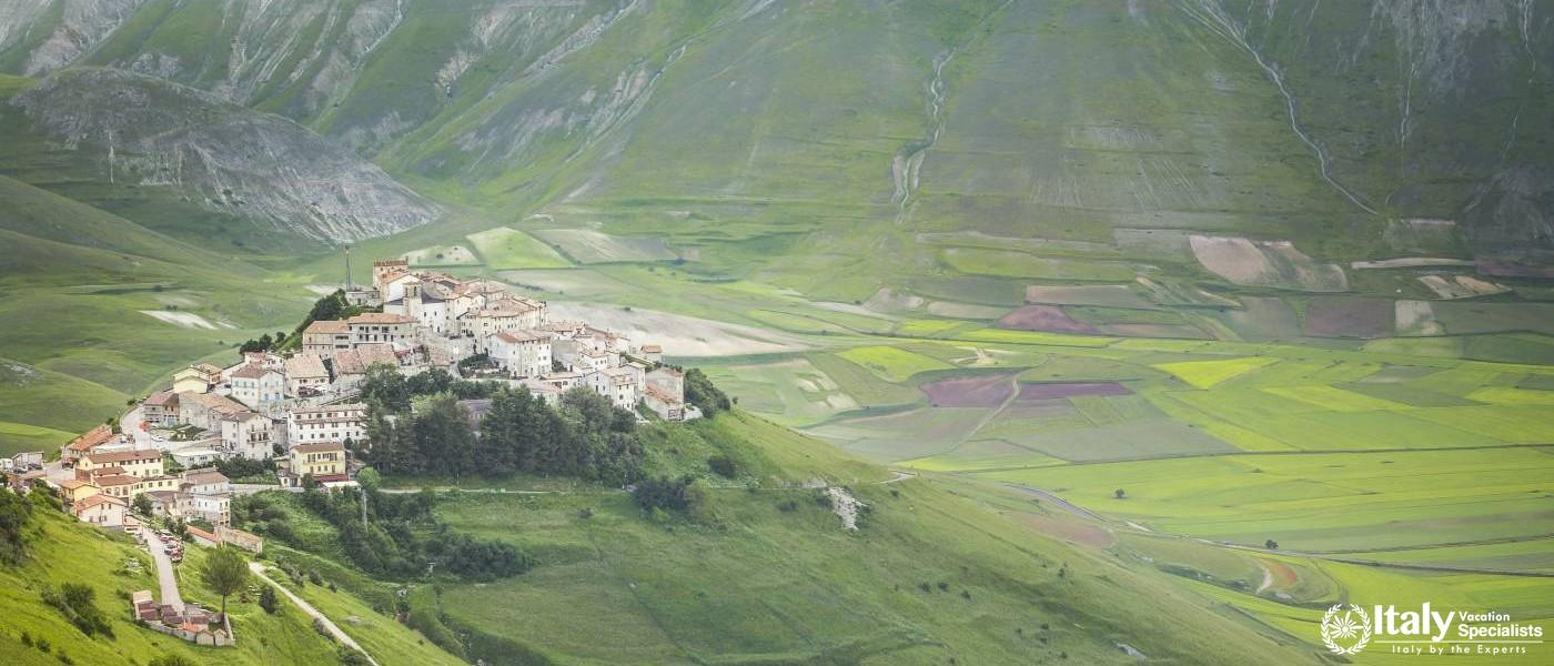 Norcia Valley Umbria Region, Italy