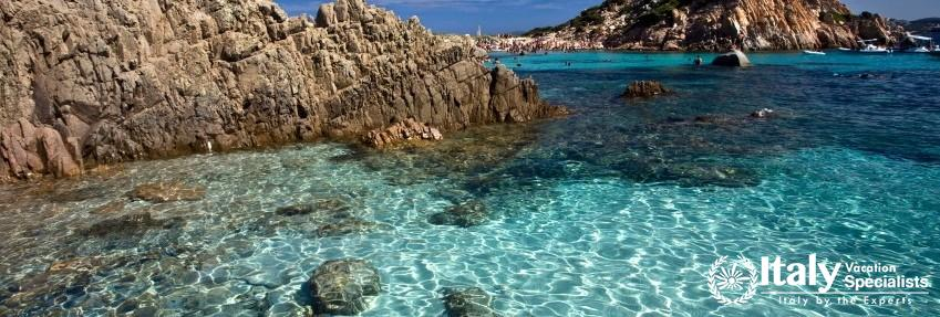 Beautiful Sea view of Sardegna Italy