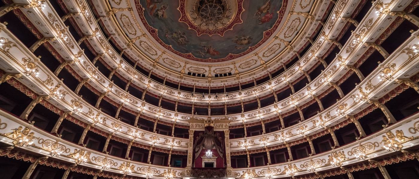 Inside Historic Parma Opera House