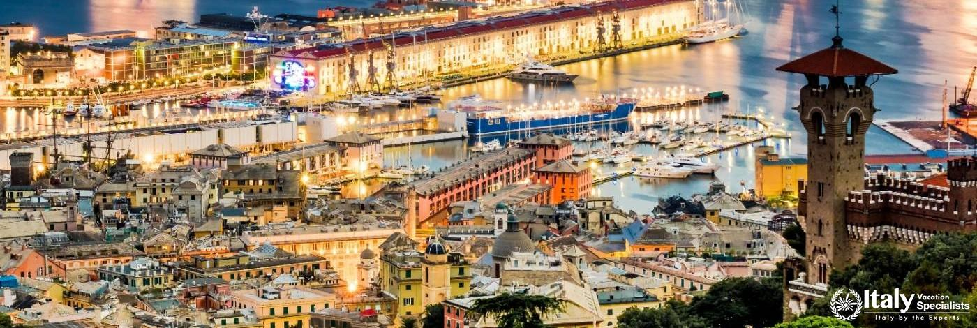 Gorgeous Port City of Genoa - Genova, Italy