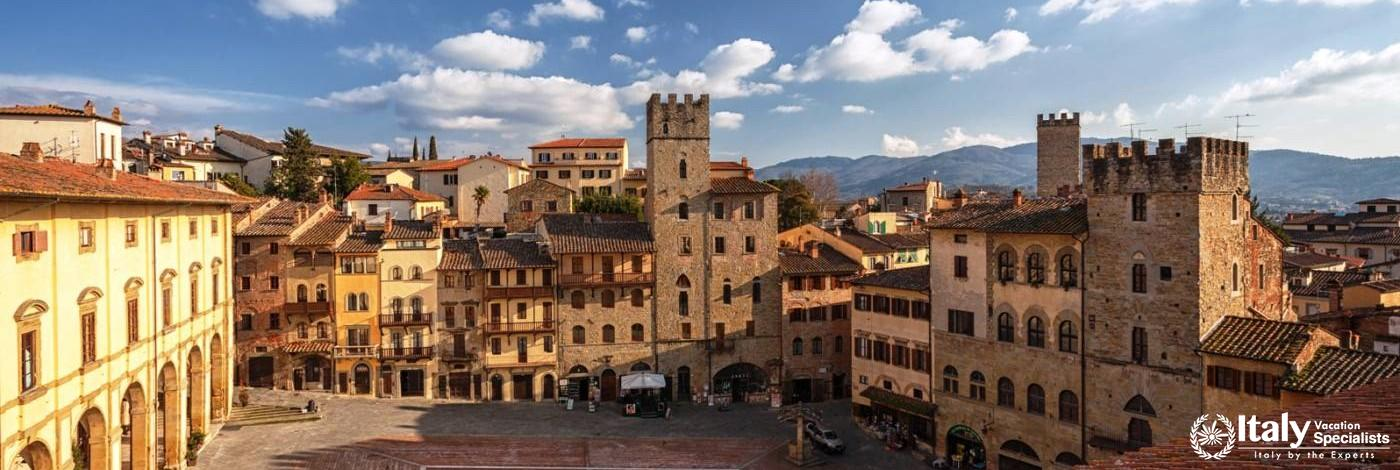 Arezzo - Town Centre, Etruscan City, Tuscany Italy