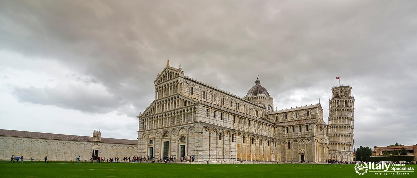 The Piazza dei Miracoli, formally known as Piazza del Duomo is recognized as an important centre of