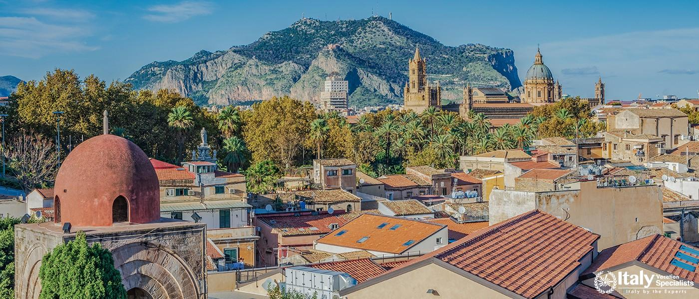 Beautiful view of Palermo Sicily