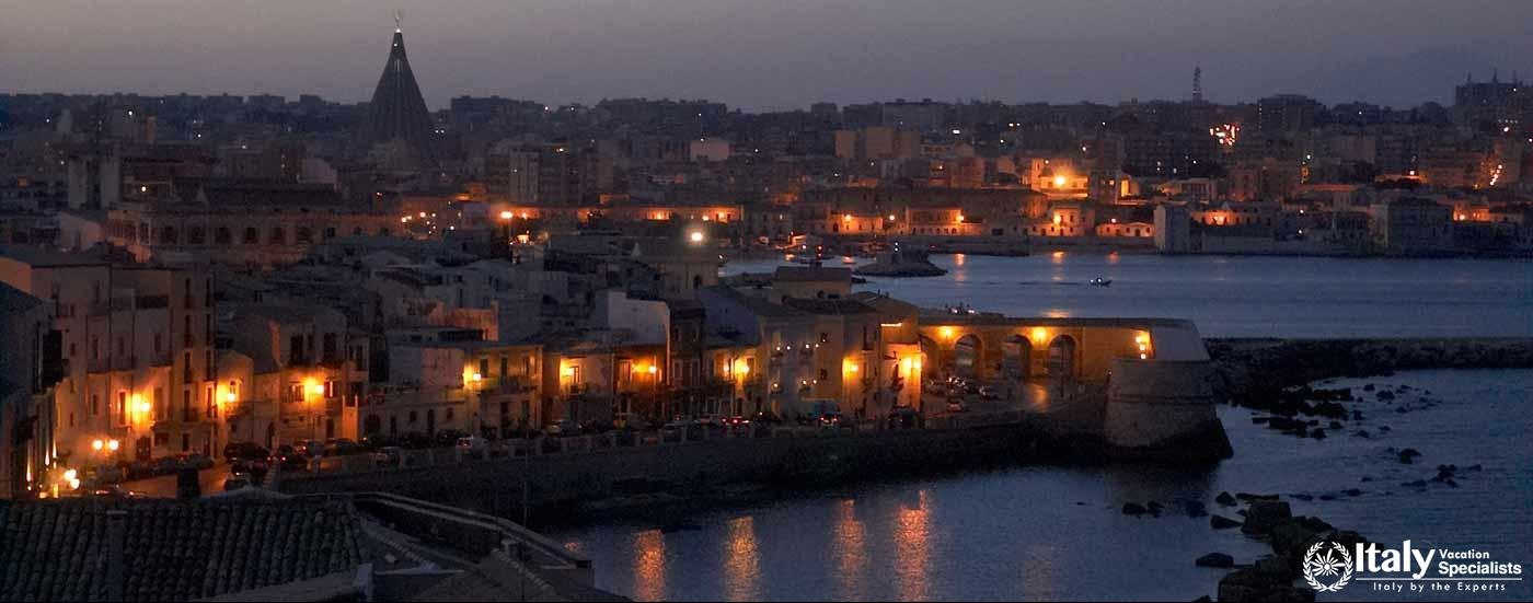 Sunset at Siracusa, Sicily