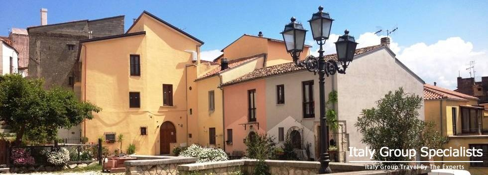 Town of Venafro in the heart of the Molise region