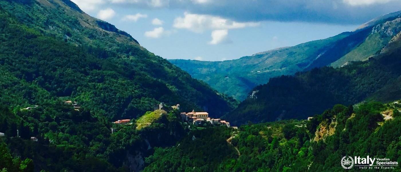 Papasidero, Calabria inside the Pollino National Park