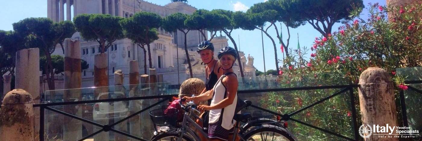 Rome by Bike for Singles