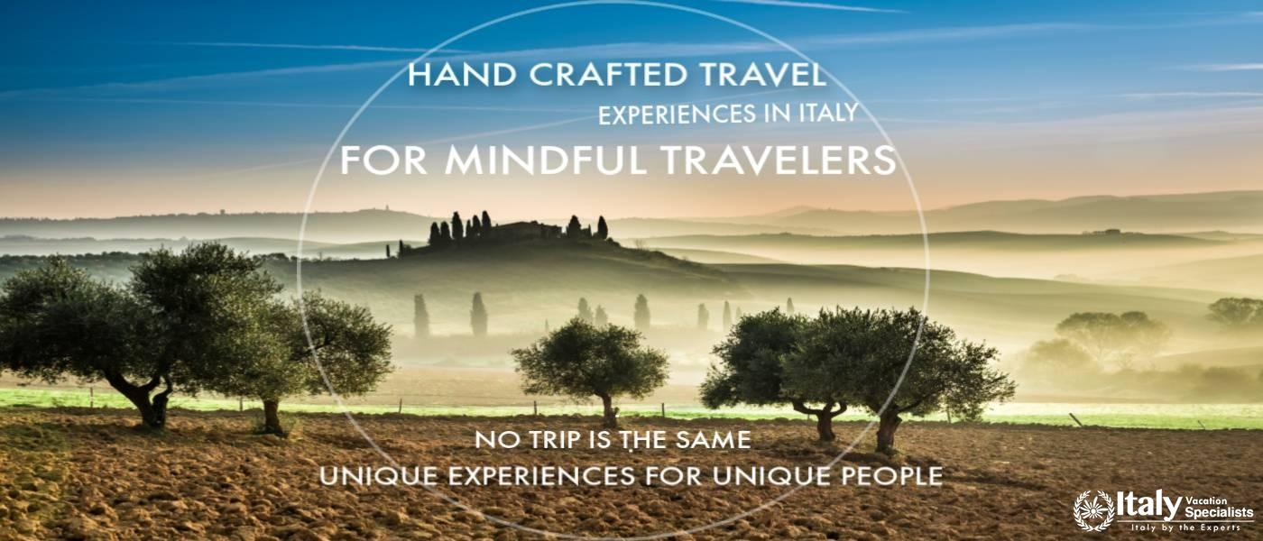 Hand crafted Journeys to Italy