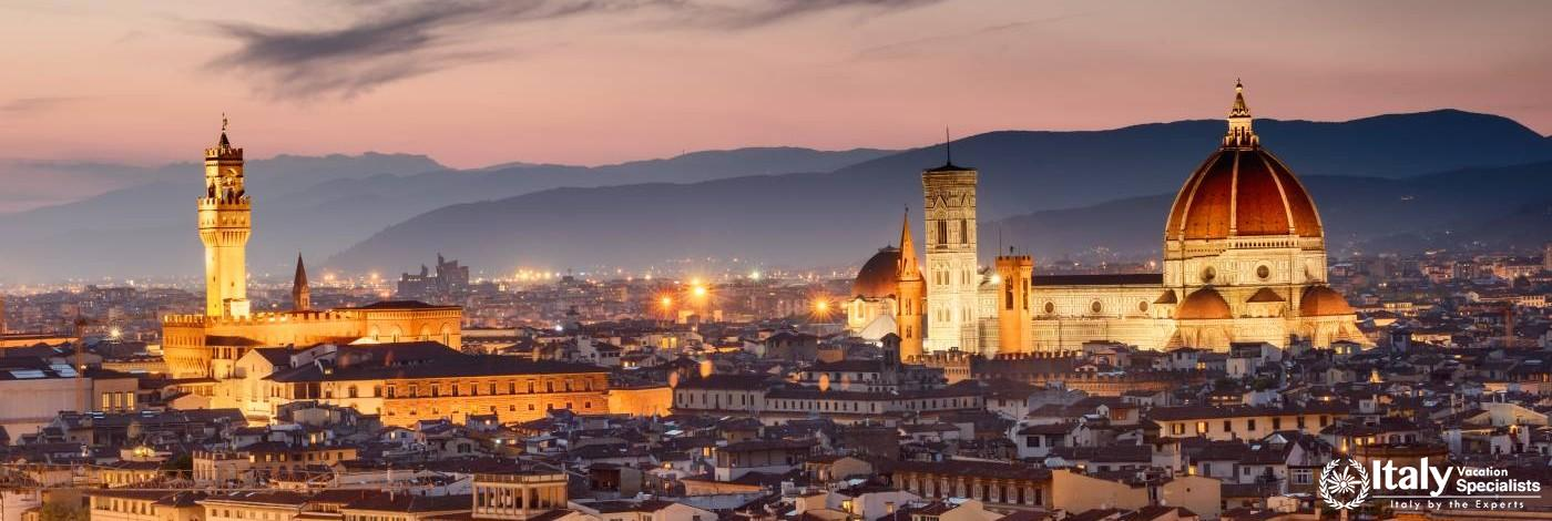 Gorgeous View over Florence, Italy
