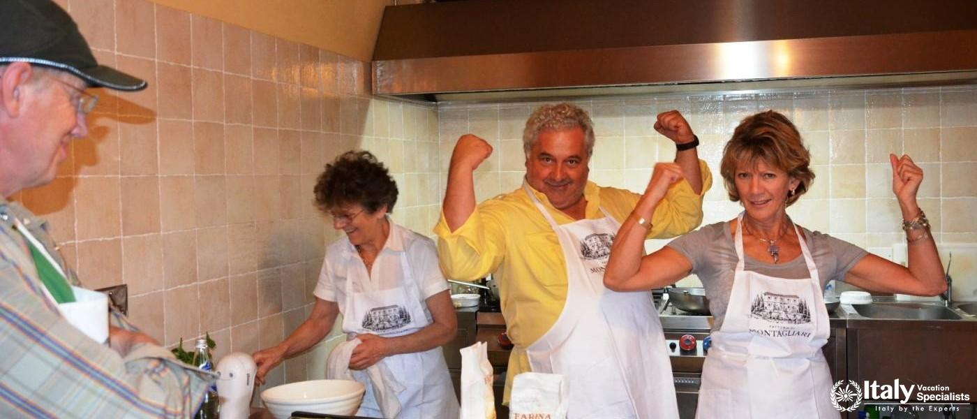 Have Fun Cooking in Italy